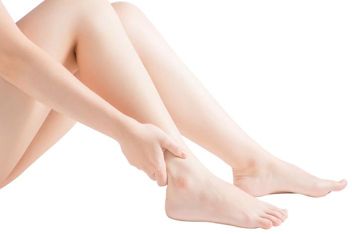 足脱毛の痛み
