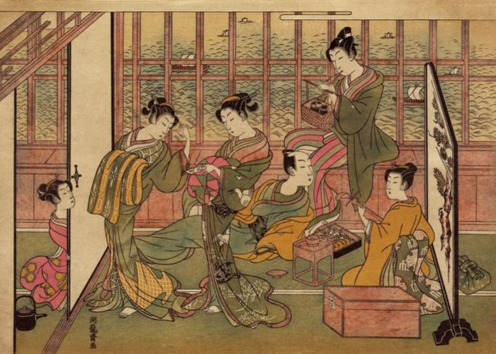 江戸時代の花魁