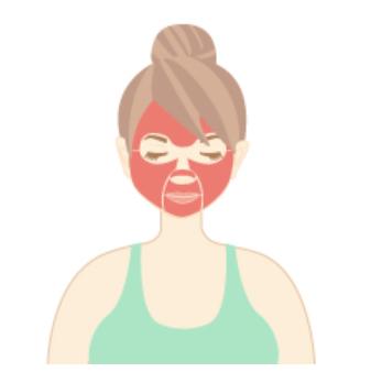 リゼクリニック顔脱毛の照射範囲